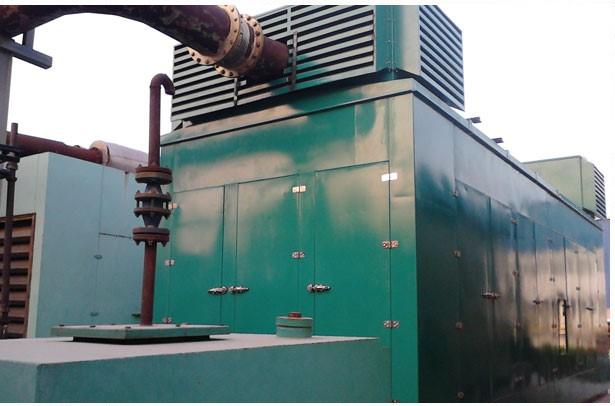 نمونه اتاقک مجهز به سایلنسر برای کمپرسور گاز
